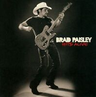 BRAD PAISLEY Hits Alive 2CD BRAND NEW Best Of Studio & Live