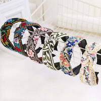 Ladies Embroider Flower Hair Band In National Style Headband Hair Accessories