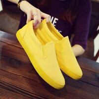 Fashion Mens Canvas Slip On Espadrilles Breathable Comfort Flats Casual Shoes