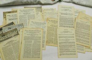 "LOT: 36 1950s/60s EDGAR CAYCE A.R.E. Pubs: ""The Searchlight"" & Article Reprints"