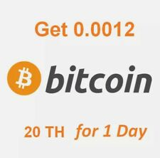 0.0012 BTC. Bitcoin Contratto di Mining.