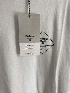 barbour international t shirt large