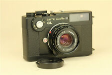 Leitz Minolta CL Leica M Mount Camera + M Rokkor 40mm f/2