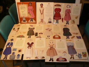 "Paper Dolls, ""ADDY'S Paper Dolls"", Uncut and Mint"