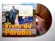 CD SINGLE B.O. FILM ▓ BOODJIE GUERDJOU : YALLA ( VIVRE AU PARADIS - GUERDJOU )