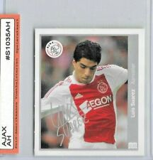 DUTCH Football CARD Luis SUarez AJAX - ROOKIE card / sticker