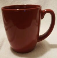 Corelle Stoneware Red 10 oz. Coffee Cup/Mug Dishwasher and Microwave Safe