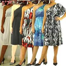 Polyester/Spandex Plus Size Dresses for Women