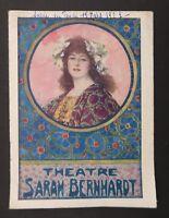 Programme Théâtre Sarah Bernhardt Paris 15 mars 1923 / L'Aiglon