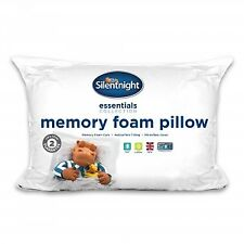 Silentnight Supportive Memory Foam Core With Hollowfibre Pillow - 2 Pack