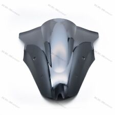Black ABS Windscreen Windshield For Kawasaki ER-6F Ninja 650 EX650R 2012-2016