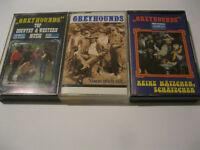 3 MC Greyhounds Keine Mätzchen Schätzchen verschied. !! RAR !! Musikkassetten