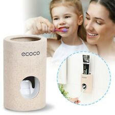 Automatic Toothpaste Squeezer Device Dispenser Toothbrush Holder Extrusion