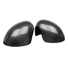 Carbon Fiber Rear Mirror Cover Overlay Fit For Mini Cooper R55 R56 Manual Fold