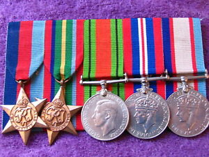 AUSTRALIA WW2 NX30784 PTE T LEWIS 2/20th BATTALION ESCAPED FROM MALAYA MEDALS