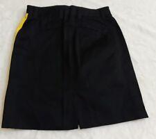 Ralph Lauren  Carolina  Black Yellow Trim  Golf skort Skirt Size 8