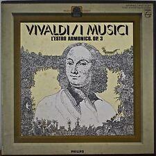 VIVALDI: L'Estro Armonico-NM 3LP BOX I MUSICI with PICTURE/NOTES INSERT
