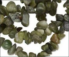 "Natural Serpentine Chip Beads (35"" Strand)"