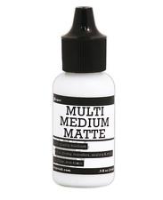 Multi Medium Matte Glue Mini with Precision Tip by Ranger® .5oz