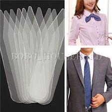 200pcs Clear Plastic Men Women Collar Stays Stiffeners Dress Shirt Tab Bone