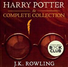 Harry Potter Audiobook 1-8.Digital MP3 Download and all the Book Electronically
