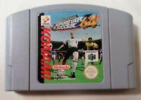 VIDEO GAME - Nintendo N64 *Cartridge Only* International Superstar Soccer 64 PAL