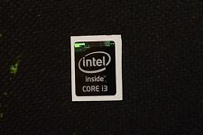Intel Core i3 Inside Black Sticker 15.5 x 21mm  Haswell Case Badge USA Seller!!