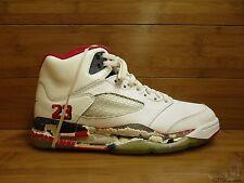Nike Air Jordan V 5 s sz 8.5 FIRE RED vtg OG Original 1990 White Black Tongue DS