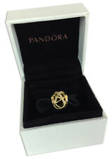 Pandora Galaxy Openwork CZ Charm 14K Gold Vermeil Plated 791388CZ