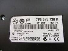 2013 Volkswagen Sportwagen Jetta Bluetooth Module P/N 7P6 035 730 K OEM