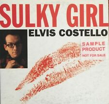 ELVIS COSTELLO Sulky Girl 3 Track CD card sleeve (2 non LP tracks)1994 Australia