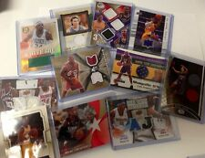 15 MVP BASKETBALL CARDS LOT AUTO JERSEY AUTOGRAPH PATCH LEBRON KOBE CURRY READ!