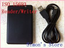 RFID 13.56Mhz ISO15693 Reader/Writer USB +SDK+2PCS Free ICODE2 cards  SS-TECH