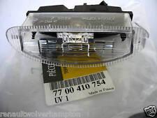 Genuine renault clio Numéro Plaque Lampe 7700410754
