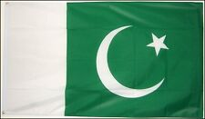 PAKISTAN FLAG 5X3 feet Polyester cloth ISLAMABAD KARACHI Islamic flags asian