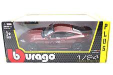 Bburago Jaguar XKR-S Burgundy red Diecast Car 1/24 New in Box 18-21063