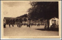 Ferienkolonie Niendorf Schleswig-Holstein AK ~1920/30 Ostsee Inder im Hof