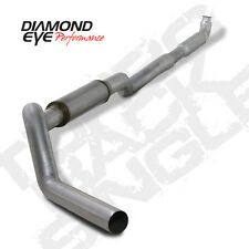 "01-07 GMC/Chevy Duramax Diesel 5"" Turbo Back Exhaust Kit 4"" Downpipe No Muff AL"