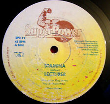 "Lecturer Stamina 12"" Dancehall Super Power King Jammy b/w Mix Up Girl+Dub VINYL"