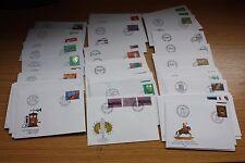 Schweiz - FDC 1979-1982  -- Michel 1154/1241 Einzelmarken