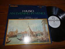 I MUSICI LP AN EVENING IN VENICE WLP ALBINONI VIVALDI MARCELLO GALUPPI Philips