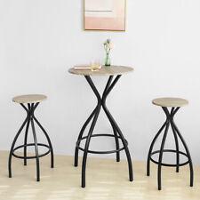 SoBuy® Kitchen Garden Restaurant Round Bar Set Dining Furniture Set,OGT21-SCH,UK