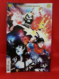 Legion of Super-Heroes #8- CVR B, Dustin Nguyen, First Print, 2020, VF/NM!