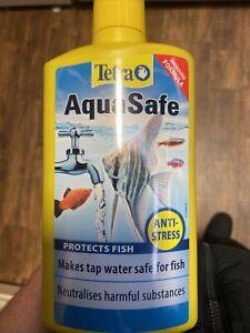Tetra Aquasafe Aquarium Tap Water Conditioner- 500ml
