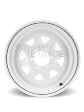 ROH Wheel 16X7 Trak 2 (Sunraysia) White [For: Nissan Patrol 2000 Onwards]