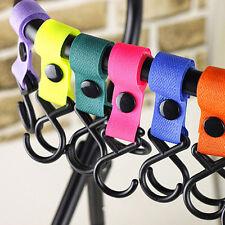 1pc Baby Stroller Accessories Pram Hanger Strap Pushchair Bottle Bag Hooks Clip
