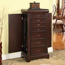 Nathan Direct Louis Alexandre 7 Drawer Locking Jewelry Armoire J1151ARM-L-E NEW