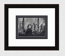 "Charming Brassai 1930s Antique Photogravure ""Maillol's Famous Studio"" Framed COA"
