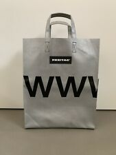 "FREITAG SHOPPING BAG  MODEL "" MIAMI VICE "" REF F52 - SILVER - NEW WITH TAG!!"