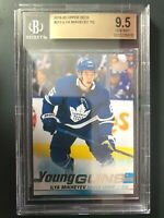 2019-20 Upper Deck Ilya Mikheyev Young Guns Rookie BGS 9.5